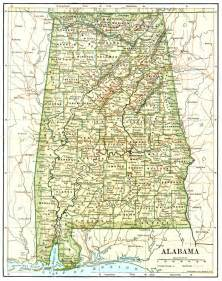 alabama maps alabama digital map library table of