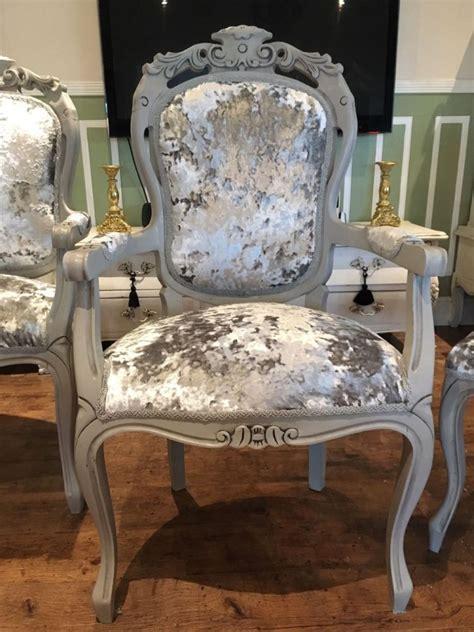 grey crushed velvet armchair grey velvet tufted dining chairs home design ideas