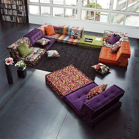 roche bobois modular sofa mah jong ultra modern decor
