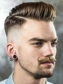 mens hairstyle step by step comb 2016 men s tapered fade haircuts haircuts hairstyles