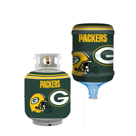 bottle skinz green bay packers propane tank cover 5 gal