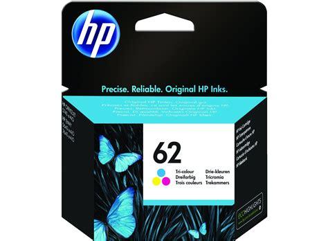Hp Original 62 Cartridge Color hp 62 colour inkjet cartridge ebay