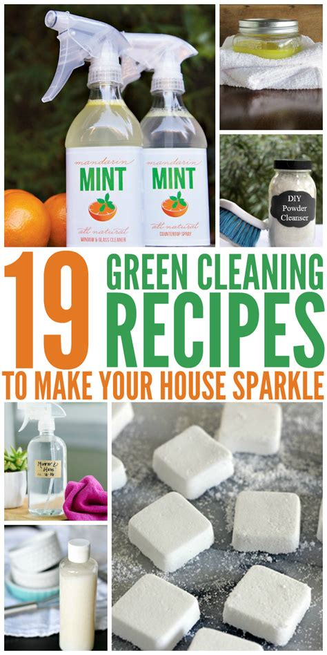 how to make your house green 19 green cleaning recipes to make your house sparkle
