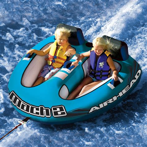 best pontoon boats for tubing top tow tubes for your boat boating blog