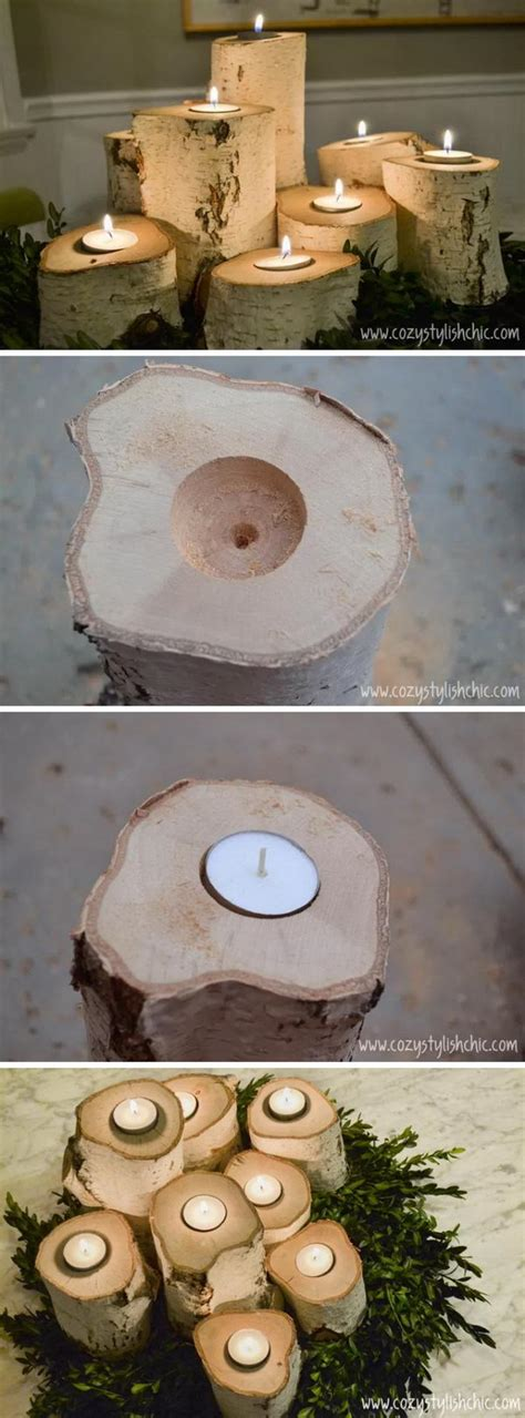 Cool Tree Stump  Log Diy Projects