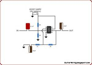 the guitar wiring diagrams and tips multipurpose guitar pre with a tl071 op