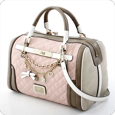 Guess Tas Amour Roze guess amour box satchel in my gift so karenz boxes