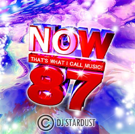 now that's what i call music 87   now 87 mock up by dj