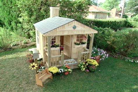 backyard clubhouse plans 16 diy playhouses your kids will love to play in the