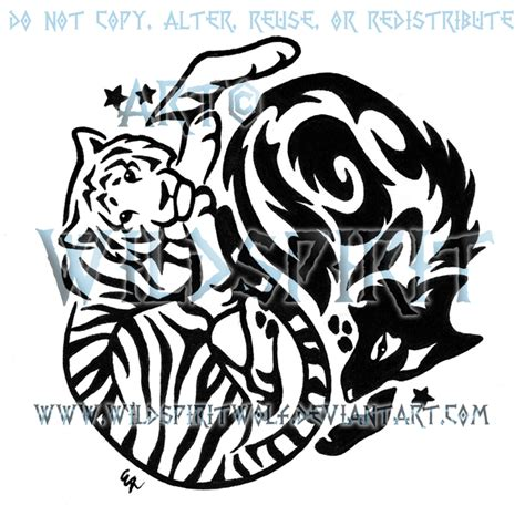 yin  tattoo images designs