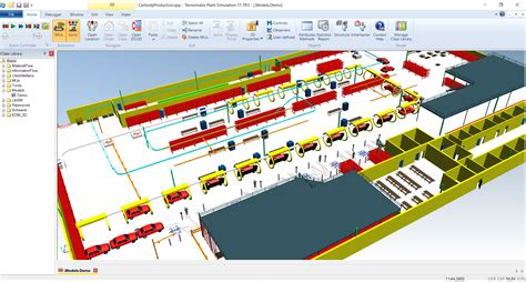plant layout simulation software hyla soft inc