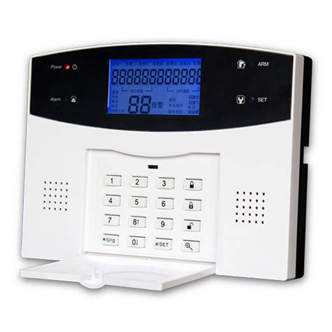 wireless gsm pstn home office security burglar intruder