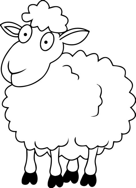 clipart de ovejas para colorear imagui dibujos de ovejas para colorear y pintar