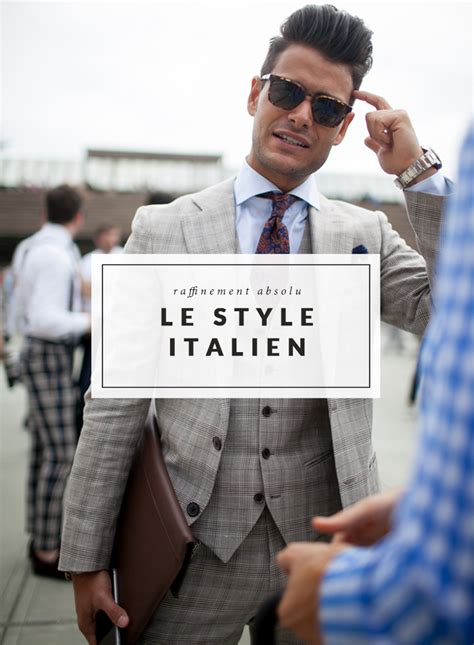 le style italien le raffinement absolu mythe ou r 233 alit 233