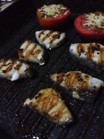 Ikan Gindara Steak menuewoy gindara steak yellow sauce ala ewoy