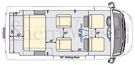 conversion van floor plans new 7 passenger conversion van inventory paul sherry