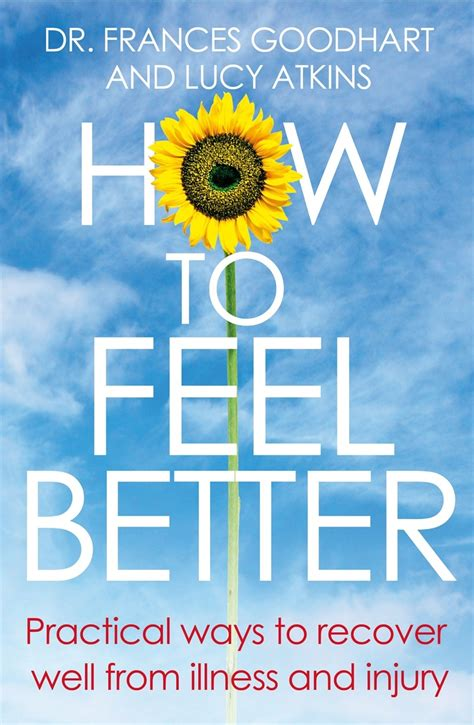 Which One Is Better M Sc Or Mba by How To Feel Better 1 Dr Frances Goodhart Psychologist