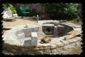 rock garden design and construction gardens of illusion work restoration patios rock