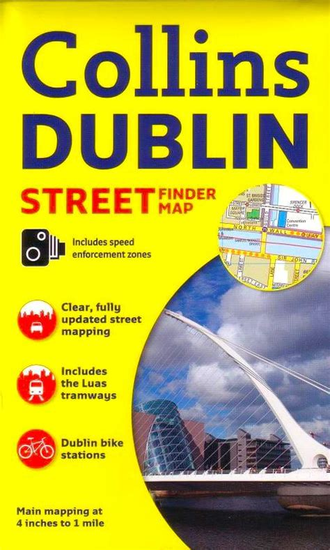 0008158657 collins dublin streetfinder colour map dublin streetfinder collins map buy map of dublin mapworld