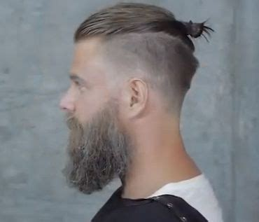 shave sides man bun 17 best images about barber on pinterest low fade