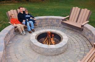 Patio Pictures With Fire Pit by 8 Guides How To Build Stone Patio With Fire Pit Tbld