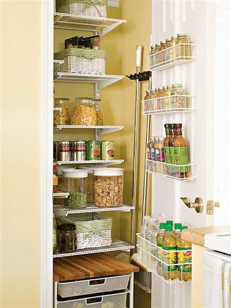 Kitchen Pantry Closet Organization Ideas Creative Pantry Organizing Ideas And Solutions