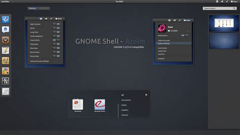 themes gnome 3 gnome shell gnome shell atolm by half left on deviantart