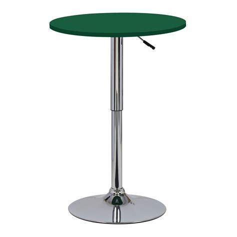 Round Bistro Table Bar Table Bistro Table Round Mdf Kitchen Dining Adjustable