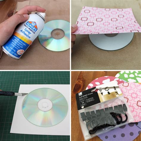 How To Make A Cd Out Of Paper - 10 ways to repurpose cds cd cases brit co