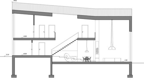 section drawing architectural drafting idcidi