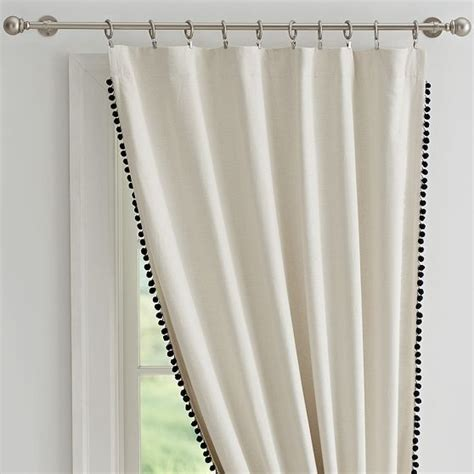 pom pom drapes 25 best ideas about pom pom curtains on pinterest
