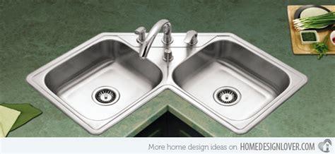 kitchen wash basin designs 15 cool corner kitchen sink designs home design lover