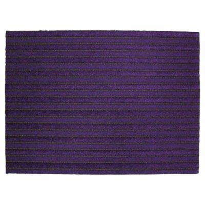 Purple Doormat by Buy Primeur Barrier Doormat Purple 60x80cm From Our