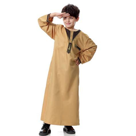 arab robe pattern boys kids saudi thobe jubba arab robe dishdasha islamic