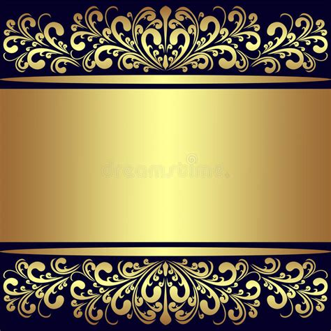 vector luxury banner border royalty free stock photos luxury background with golden royal borders stock vector