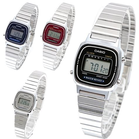 Casio Standard La 670wa 7 楽天市場 カシオ casio ブランド 腕時計 レディース チープカシオ デジタル スタンダード チプカシ
