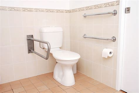 bathroom rails fall prevention