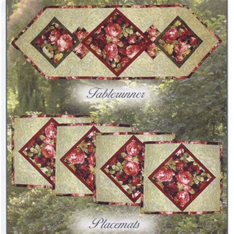 Patchwork Placemat Patterns - 1000 ideas about quilted table runner patterns on