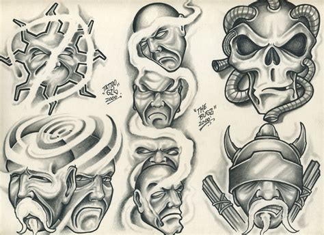 tattoo flash by tattooman21 on deviantart
