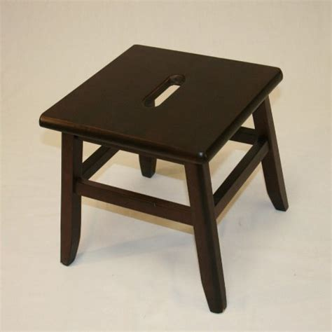 solid hardwood conductor stool step tools home improvement