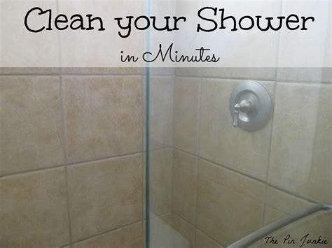 clean glass shower doors  easy