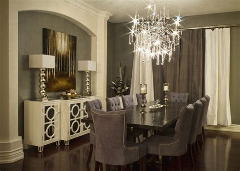 Contemporary Dining Room by Elegant Dining Room Modern Dining Room Toronto By