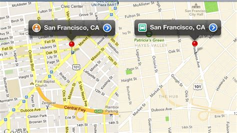 google maps gets cleaner look and orange areas of google maps vs apple maps a side by side comparison