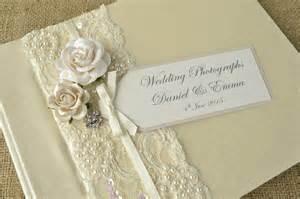Vintage Wedding Albums Luxury Personalised Wedding Photograph Album Vintage Stylecreative Bridal