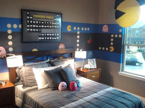 bedroom decorating games kids video game themed rooms design dazzle