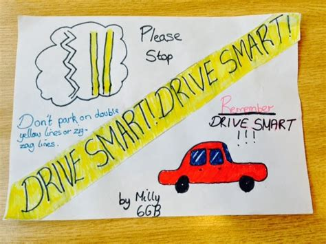 poster design road safety wrotham road primary blog road safety posters designed by