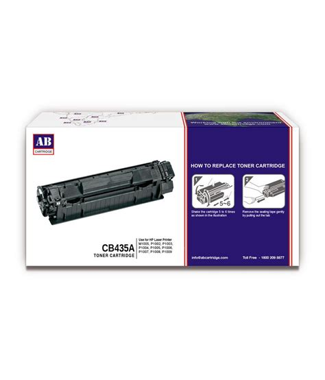 Cartridge Toner U Hp Laserjet P1005 P1006 35a Dari Amazink ab 35a toner cartridge cb435a hp compatible for m1005
