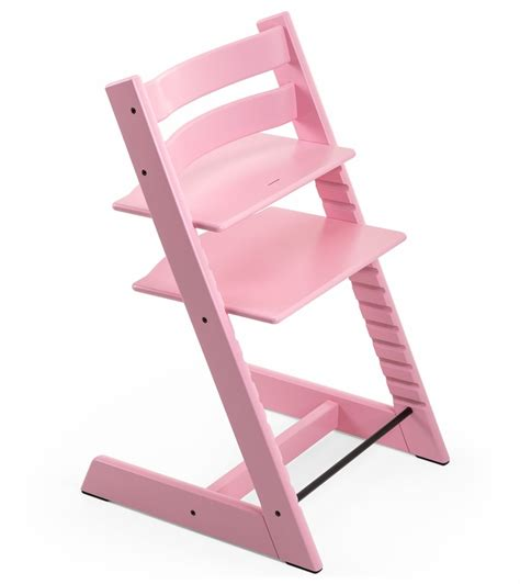 Tripp Trapp High Chair by Stokke Tripp Trapp High Chair In Soft Pink