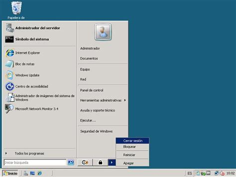 escritorio remoto windows server 2008 exe