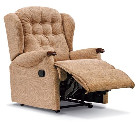 Small Cloth Recliners Lynton Knuckle Small Fabric Recliner Sherborne Upholstery